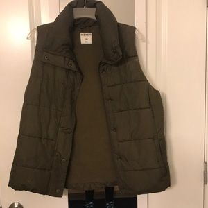 Old Navy Vest Hunter Green Large
